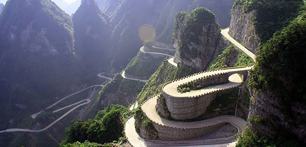 What a road in China
